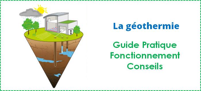 La g othermie principes atouts fonctionnement - Principe de fonctionnement de la geothermie ...